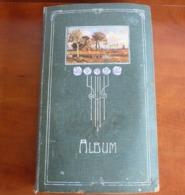 Old Album ( Art Deco Style) With 496 Old Postcards - Ansichtskarten