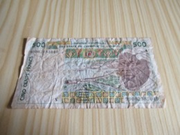 Guinea-Bissau.Billet 500 Francs. - Guinea-Bissau