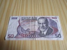 Autriche.Billet 50 Schilling 02/01/1986. - Austria