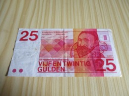 Pays-Bas.Billet 25 Gulden 10/02/1971. - [2] 1815-… : Kingdom Of The Netherlands