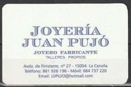 Calendario Bolsillo Joyería Juan Pujó 2014 Pocket Calendar Kalender Calendrier Kalendar - Calendarios