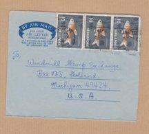 AEROGRAMME  1965  SINGAPORE  VOIR TIMBRES ET CACHETS - Singapore (1959-...)