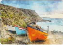 Calendario Bolsillo Paisaje Marino Barcas En Playa 2017 Pocket Calendar Kalender Calendrier Kalendar - Tamaño Pequeño : 2001-...