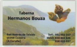 Calendario Bolsillo Plastificado Taberna Hnos. Bouza 2017 Pocket Calendar Kalender Calendrier Kalendar - Calendarios