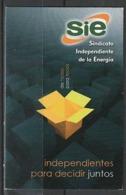 Calendario Bolsillo SIE 2011 Pocket Calendar Kalender Calendrier Kalendar - Calendarios