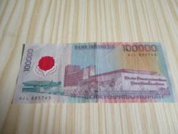 Indonésie.Billet 100000 Rupiah 1999. - Indonesia