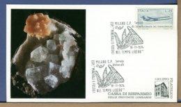 ITALIA - 1974 - MINERALI E FOSSILI - - Minerali