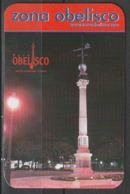 Calendario Bolsillo Zona Obelisco Coruña 2004 Pocket Calendar Kalender Calendrier Kalendar - Calendarios