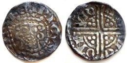 GREAT BRITAIN - Henri III [1248-1250] - Sterling - Nicole On Lund (1,27 G) (voilée, Curved) - …-1662: Münzen Im Mittelalter
