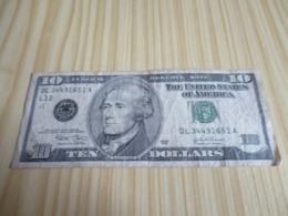 Etats-Unis.Billet 10 Dollars 2003. - National Currency