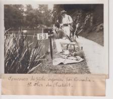 ST SAINT OLER DU CHÂTELET CONCOURS DE PECHE ORGANISE PAR  COMOEDIA  18*13CM Maurice-Louis BRANGER PARÍS (1874-1950) - Fotos
