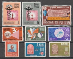 CEYLON  **  MNH  1970 Y OTROS  LOT - Sri Lanka (Ceylon) (1948-...)