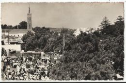 Maroc - Tanger - Jour De Marché Au Grand Socco 1955 - Tanger