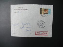Enveloppe  Togo  1962  Banque De L'Afrique Occidentalesiège De Lome Pour La Sté Générale En France  Bd Haussmann  Paris - Togo (1960-...)