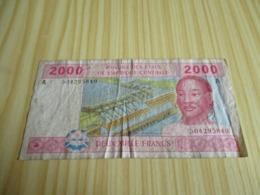 Gabon.Billet 2000 Francs. - Gabon