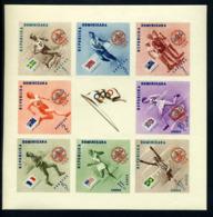 Olympische Spelen  1956 , Dominicaans Republiek - Postfris - Summer 1956: Melbourne