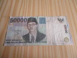 Indonésie.Billet 50000 Rupiah 1999. - Indonesia