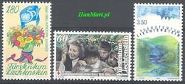 Liechtenstein 1995 Mi 1105-1107 MNH ( ZE1 LCH1105-1107 ) - Autres