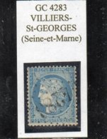 Seine-et-Marne - N° 60A Obl GC 4283 Villiers-Saint-Georges - 1871-1875 Cérès