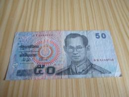 Thaïlande.Billet 50 Baht. - Thailand
