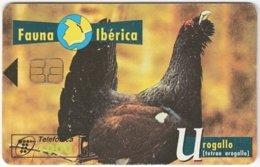 SPAIN B-317 Chip Telefonica - Animal, Bird - Used - Ohne Zuordnung