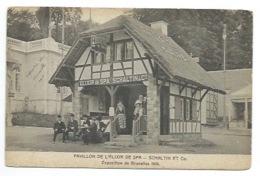 ALCOOL - BELGIQUE - Pavillon De L'ELIXIR DE SPA - SCHALTIN Et Co - CPA - Ansichtskarten