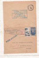 Enveloppe  De Casablanca  Vers Marchienne   1946 - Maroc (1956-...)