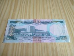 Pakistan.Billet 500 Roupies. - Pakistan