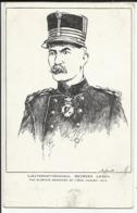 Militaria Illustrateur Fly - Lieutenant Général Georges LEMAN - The Glorious Defender Of LIEGE, August 1914 - Weltkrieg 1914-18