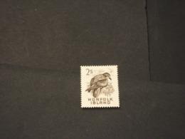 NORFOLK - 1960/3 UCCELLO 2 Sh. - NUOVI(++) - Isola Norfolk