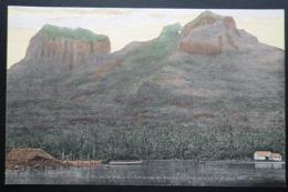 Tahiti Postcard. 42. Ile De Borabora. (Iles-sous-le-vent)  L'Otemanu Et Le Pahia 850m - Tahiti