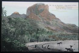 Tahiti Postcard. 39. Ile De Borabora. (Iles-sous-le-vent)  L'a Montage D'Otemanu Pres Du Village D'Anau - Tahiti