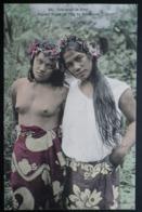 Tahiti Postcard. 29. Jeunes Filles De Ile De Borabora. (Iles-sous-le-vent) - Tahiti