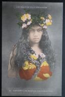 Tahiti Postcard. 10. Tetuanui, Ile De Borabora. (Iles-sous-le-vent) Les Beauties Polynesiennes  (A) - Tahiti