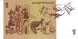 AUSTRALIA P. 42d 1 D 1983 AUNC - 1974-94 Australia Reserve Bank (paper Notes)