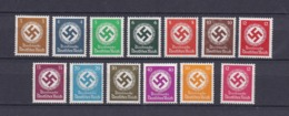 Deutsches Reich - 1934 - Dienstmarken - Michel Nr. 132/143 A+b - Postfrisch - 75 Euro - Deutschland