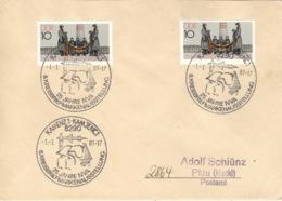 DDR Beleg Mit Sonderstempel Kamenz 25 Jahre NVA 1981 - Machine Stamps (ATM)