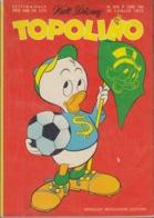 DISNEY - ALBUM TOPOLINO N°870 - 30 Luglio 1972 - GIOCHI INTONSI NON SVOLTI - BOLLINI PUNTI - Ottimo!! - Disney