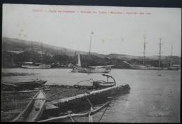 Tahiti Postcard. Rade De Papeete- Arrivee Du Cotre, Moorea, Courrier Des Iles - Tahiti