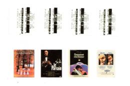 4 Tickets De Cinéma Le Senechal Gueret (Creuse) Le Roi Lion Dos Illustrés Affiches De Films Divers Scans Recto/verso - Tickets D'entrée