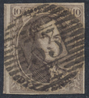"Médaillon - N°10 Margé Obl P33 ""Dinant"". Superbe - 1858-1862 Medallones (9/12)"