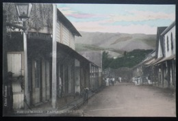 Tahiti Postcard. Rue Du Marche - Papeete - Tahiti