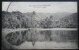 Tahiti Postcard. Plage De Port Phaeton. Port Phaeton Sea Shore. Postally Used 1912 - Tahiti