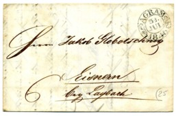 Lettera 31/Jul/1840 Da AGRAM (Zagabria) Per BISCHOFLAK (Škofja Loka - SLOVENIA) - Slovenia