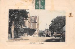 ¤¤   -   HERMES   -   La Gare   -  Chemin De Fer    -  ¤¤ - Sonstige Gemeinden