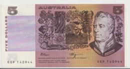 AUSTRALIA P. 44f 5 D 1980 AUNC - 1974-94 Australia Reserve Bank (paper Notes)