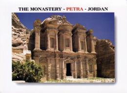 1 AK Jordanien * Tempel Ed-Deir (das Kloster) In Der Antiken Stadt Petra - Erbaut Im 1. Jh. N. Chr. - Seit 1985 UNESCO - Jordanien