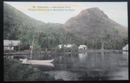 Tahiti Postcard. 55. Raiatea - Village D'Uturoa Et La Montagne Du Tapioi (Iles Sous Le Vent) - Tahiti