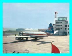 A743 / 427  Avion Isle Of Man Ronaldsway Airport With Viscount G-ALWF - 1946-....: Era Moderna