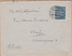 ENVELOPPE  TIMBRE 1933 ERNESTINOVO VOIR TIMBRE ET CACHETS - 1931-1941 Königreich Jugoslawien